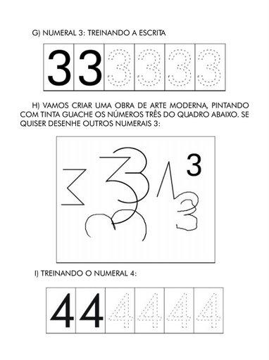 número 3 e 4