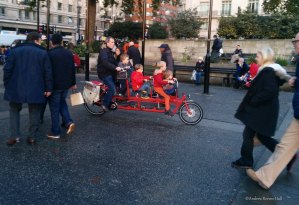 Taking your kids out for a cycle in cities should be joyful...