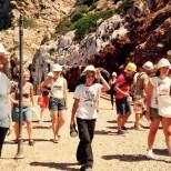 Arrivo nel piazzale della miniera