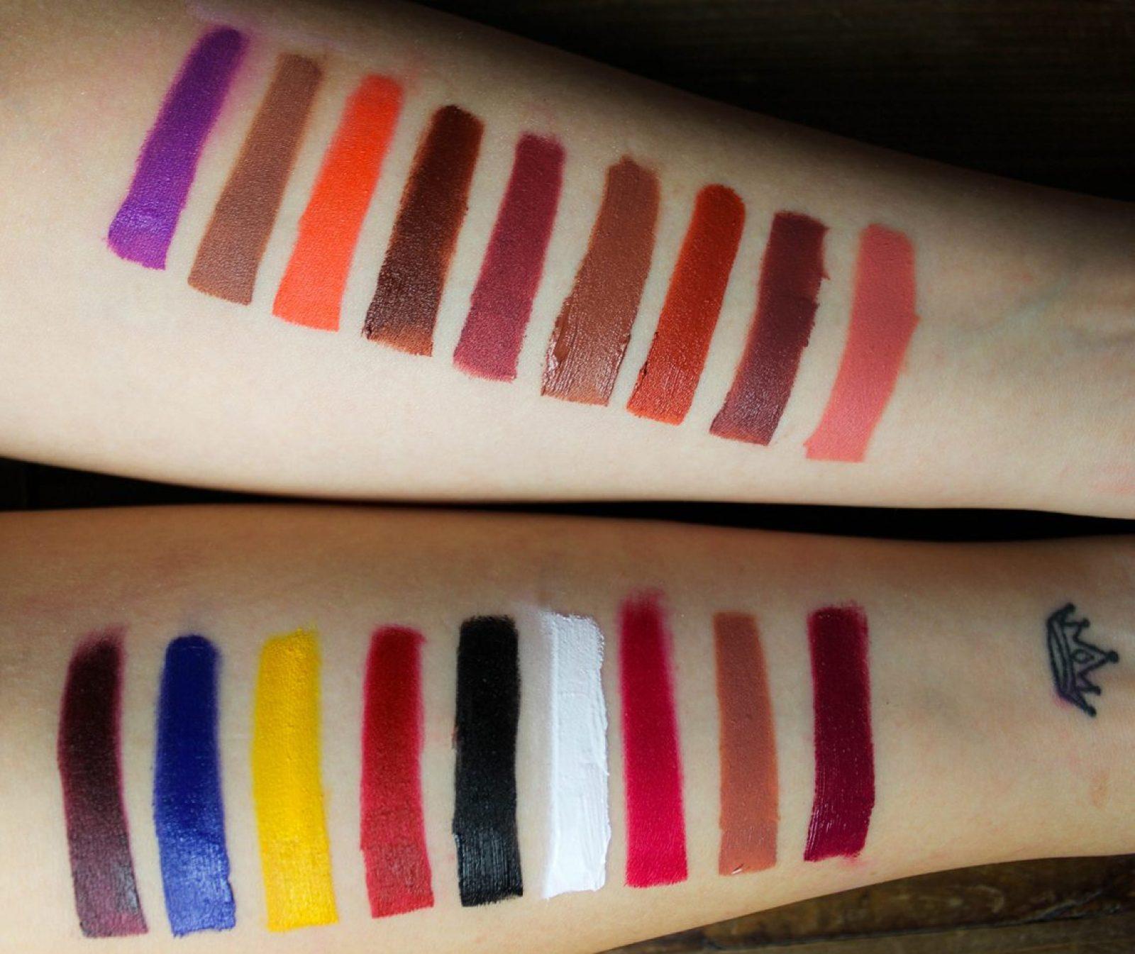 Anastasia-Beverly Hills-Lip-Palette-revue-SWATCHS
