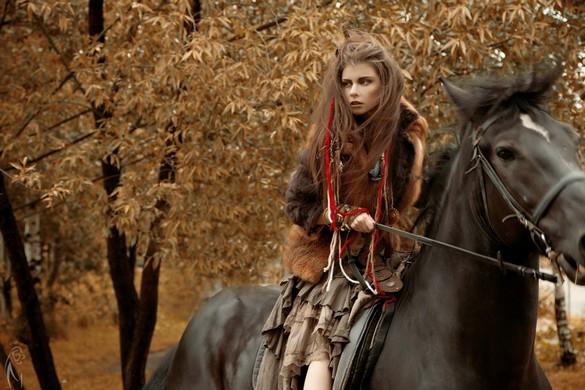 Maria Kirienko for Vogue Russia