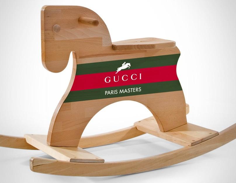 www.pegasebuzz.com | Gucci Paris Masters rocking chair