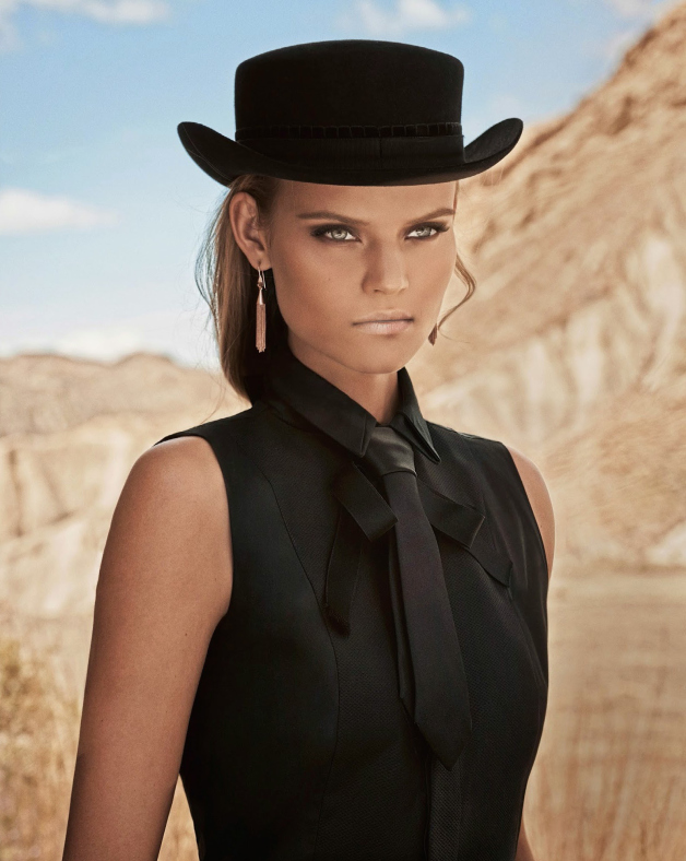 www.pegasebuzz.com | Kate Grigorieva by Mariano Vivanco for Vogue Spain, july 2014