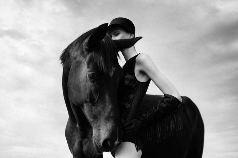 www.pegasebuzz.com   Kaja Pals by Marta Zbieroń : Black Horse