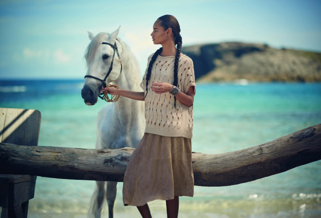 www.pegasebuzz.com | Malaika Firth by Boo George for Neiman Marcus, march 2015