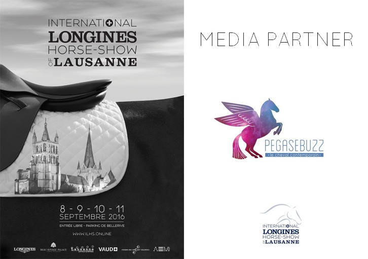 PegaseBuzz, media partner of International Longines Horse Show of Lausanne