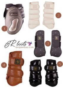 www.pegasebuzz.com | Equestrian Fashion : Leg Boots - Br Riding Equipment