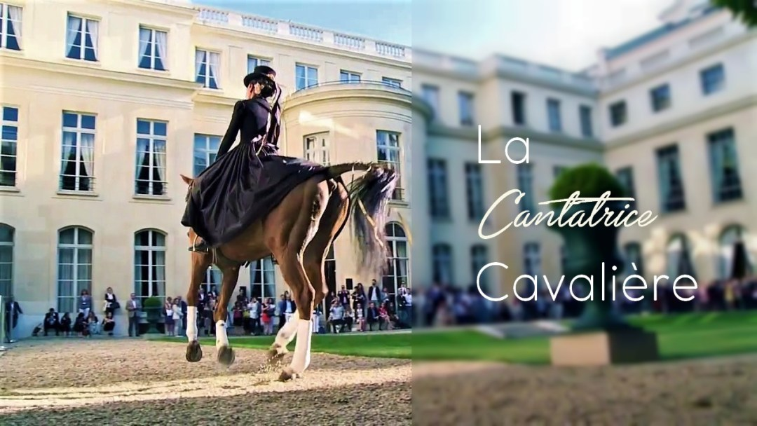 www.pegasebuzz.com | La Cantatrice Cavalière - A Cheval Chez Les Princes by ArtemOise