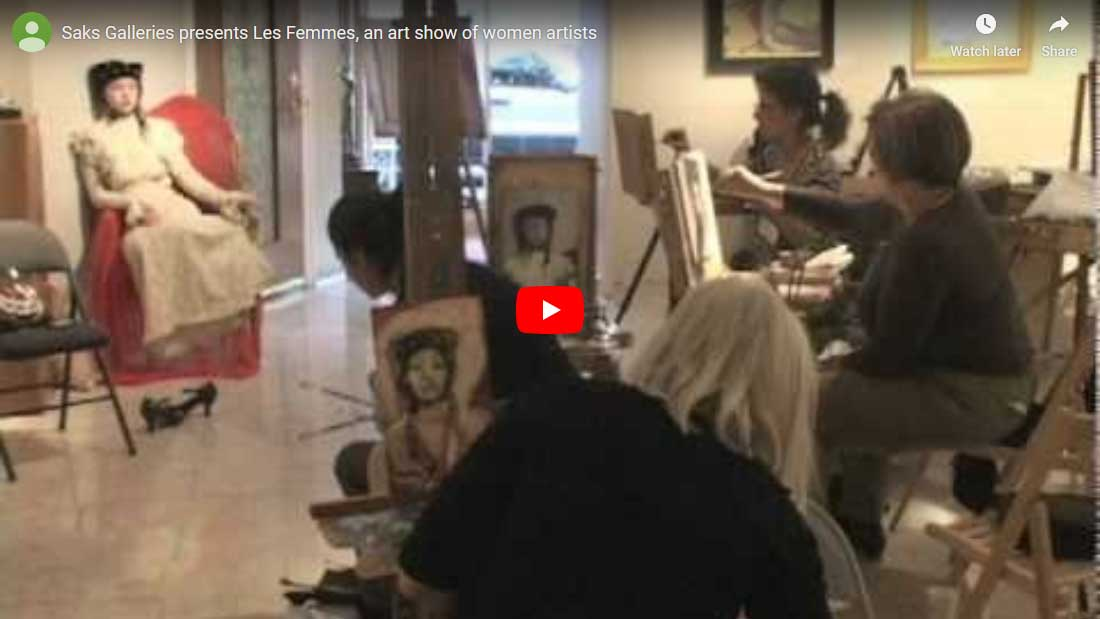 saks gallery video