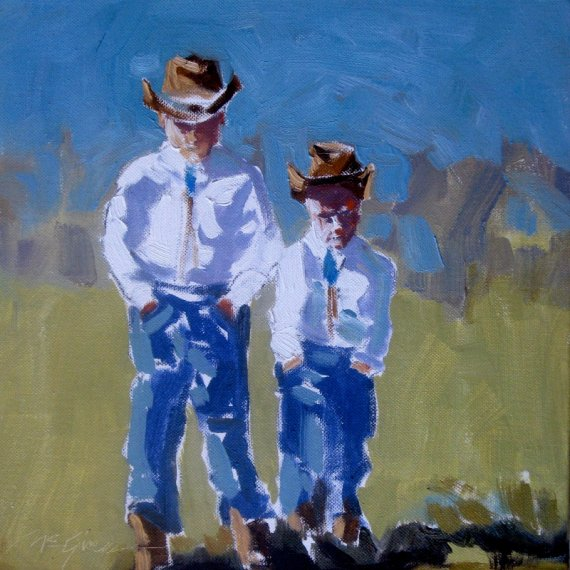 LittleCowboys-12x12-Oil-web