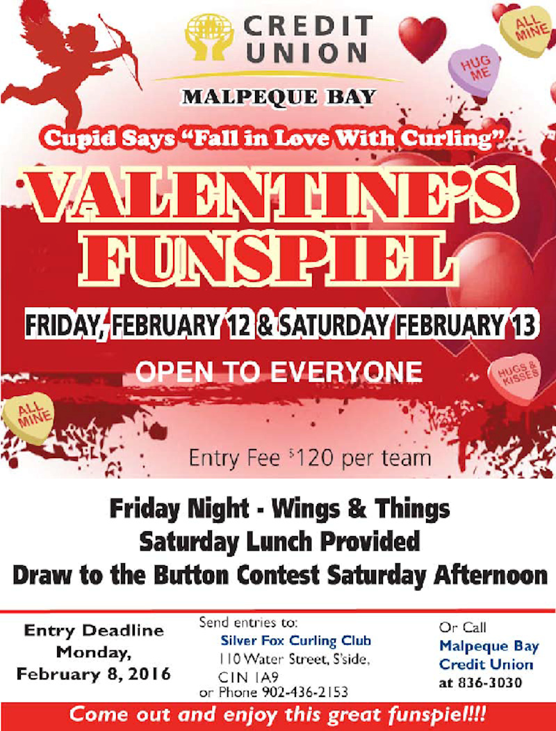 Valentine's Funspiel @ Silver Fox Curling and Yacht Club