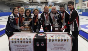 Ontario men and Nova Scotia women win gold at Everest Seniors (Curling Canada)