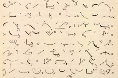 Shembull stenografie