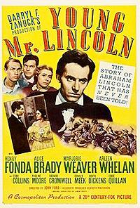 Cartel de la película El joven Lincoln
