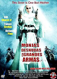 Cartel de la película Monjas desnudas con grandes armas