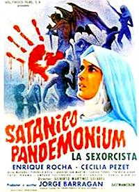 Cartel de la película Satánico Pandemonium 'La Sexorcista'