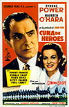 Cartel de la película Cuna de héroes