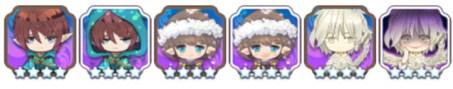 ■グループ4.19 エルフはユニコーンが守ってあげる ■キャラ:アニス(アネモネ)、プラン(サフラン)、ジスト(アメジストの花)