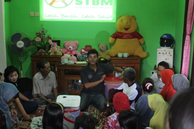 Distribution of 50 Ceramic Water Filters from Cinta Tanah Air