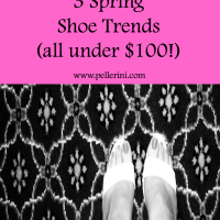 3 Spring Shoe Trends (All under $100!)