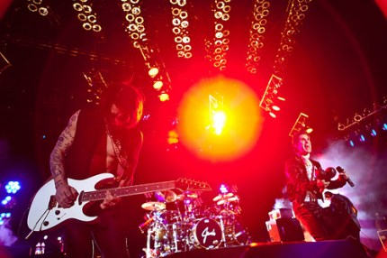 Jane's Addiction in concert. (Photo by Christopher Nelson)