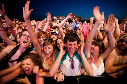 Of Montreal's fans. (Photo by Christopher Nelson)