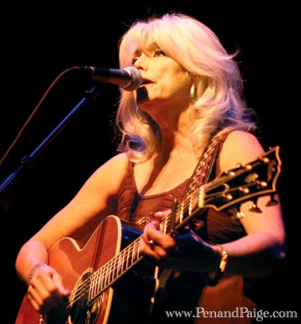 Emmylou Harris in performance at the Alberta Bair Theater Nov. 17, 2009.