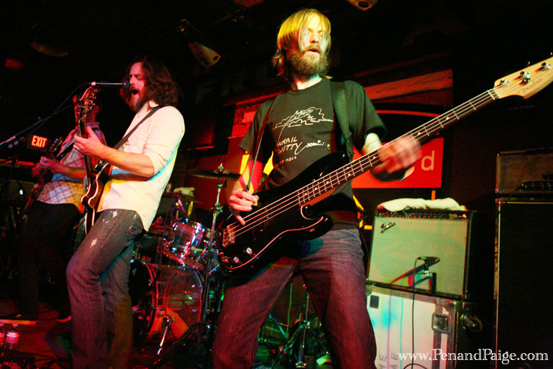 Seattle band Minus the Bear in performance in Billings on April 20, 2010.