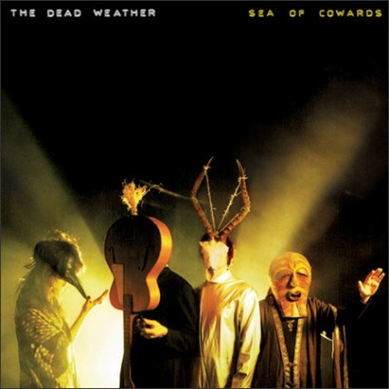 """Cover art from The Dead Weather's newly released sophomore album, """"Sea Of Cowards"""""""