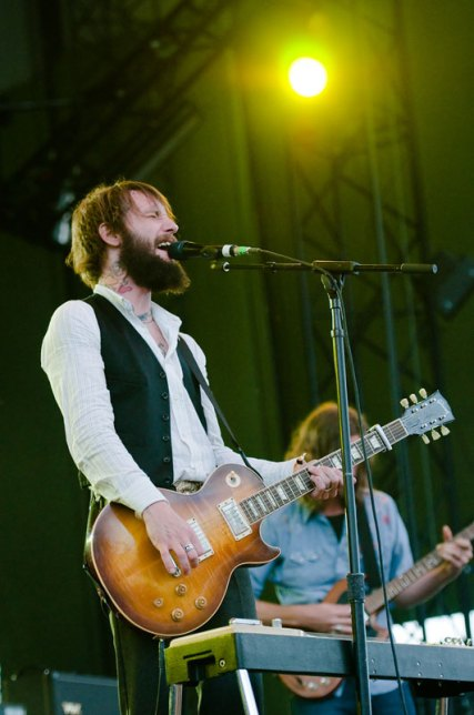 Band of Horses lead singer Ben Bridwell (Photo by Kyle Johnson).