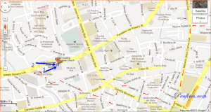 Map and Jeepney Route to Cebu South Bus Terminal