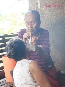 Nanay Conchingn Bolo Bolo Healer in Siquijor