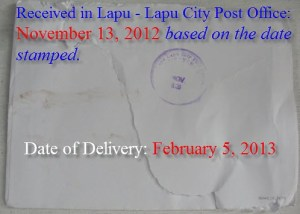 Philpost - Delayed Mail Delivery