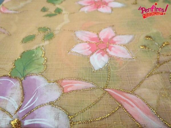 Lumban hand painted textiles