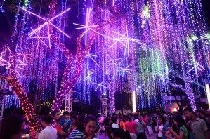 Ayala Triangle Gardens Christmas 2014 Lights and Sound Show