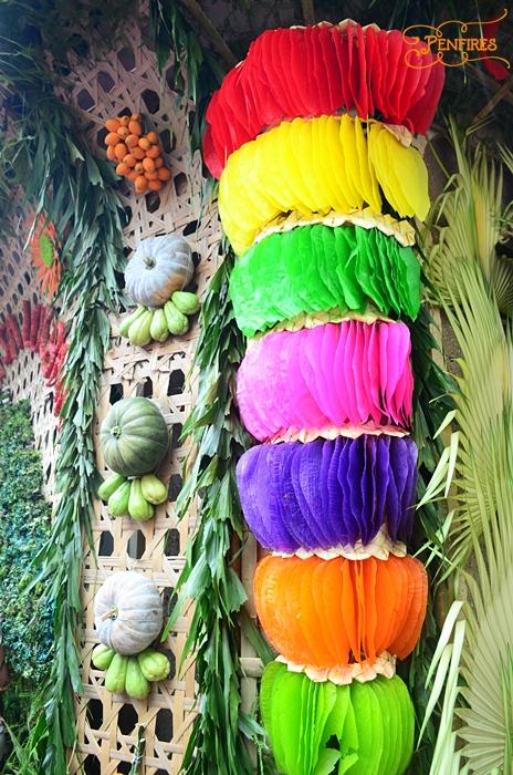Pahiyas Kiping Display