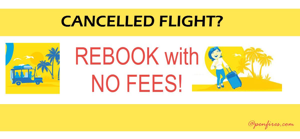 Rebooking Cebu Pacific Cancelled Flight
