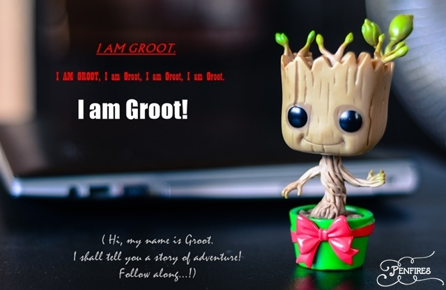 Fun With Toys: A Tale of Adventure By Dancing Groot