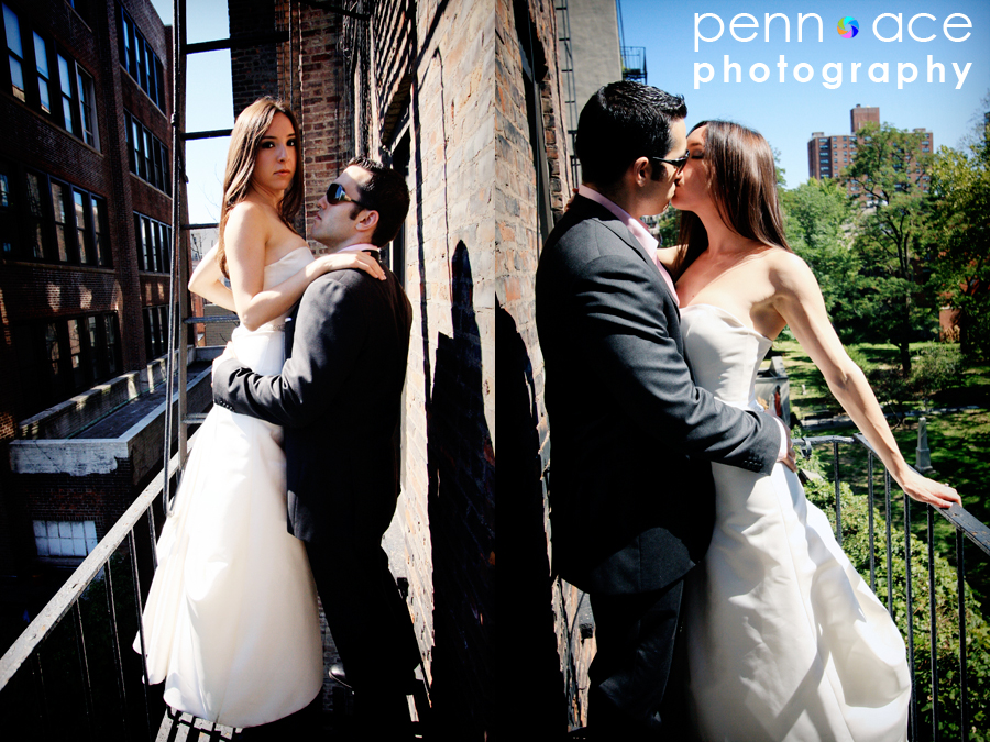 NYC Trash the Dress Pictures