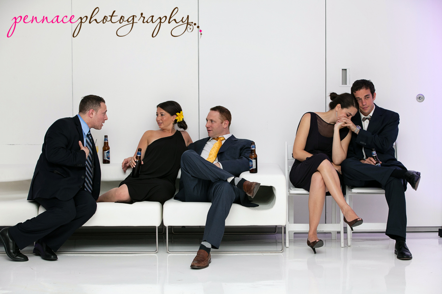 Wedding Candid of Guests