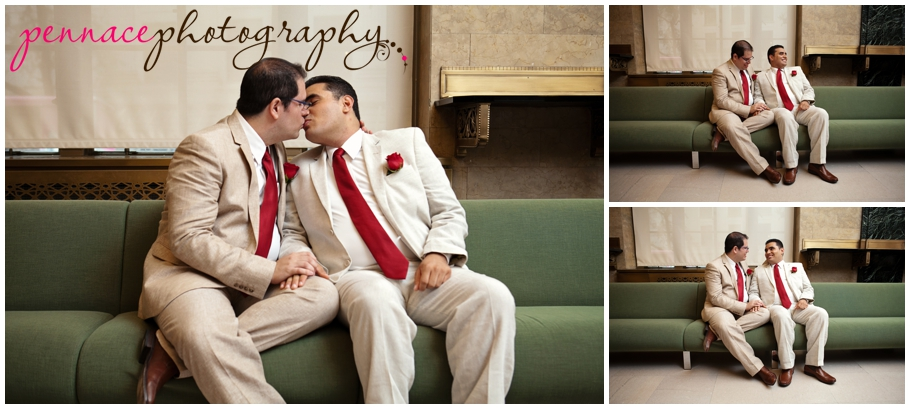LGBT NYC City Hall Wedding