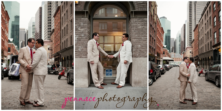South Street Seaport wedding