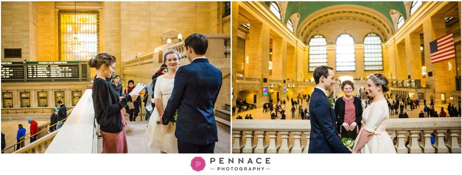 Grand Central Elopement in NYC