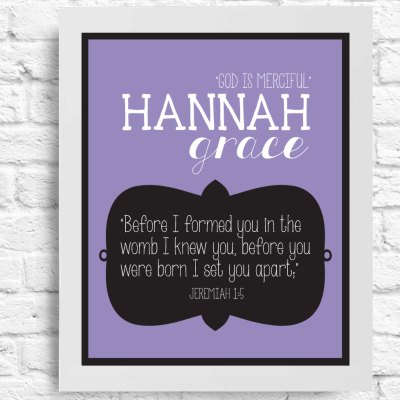 Name Meaning and Scripture Customizable Art- Wall Art - Inspirational Quote- Personalized Baby Name- Nursery Decor- Girl- Baby Shower Gift