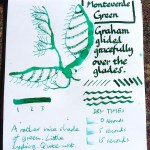 Monteverde Green ink review inkling