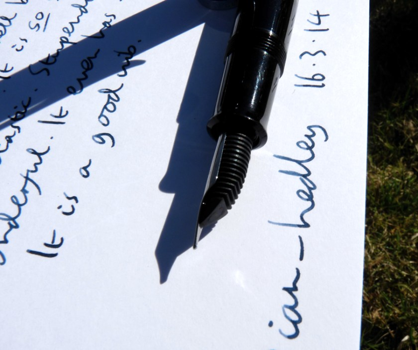 Pelikan M215 fountain pen feed