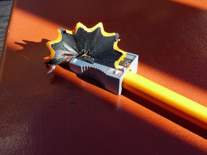Sharpening Rhodia pencil