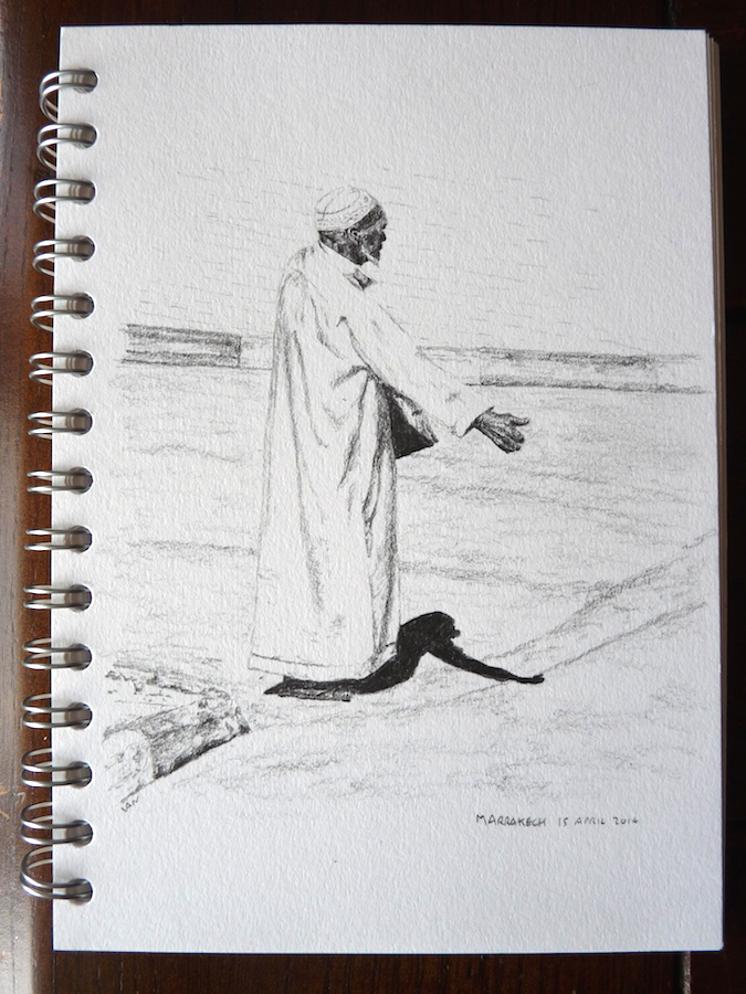 Marrakech Hitchhiker sketch