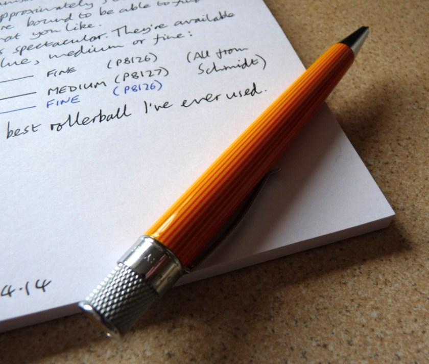 Retro 51 Tornado rollerball pen review