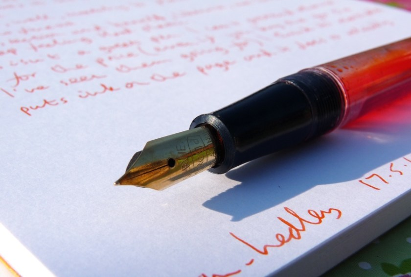 Serwex 101 F fountain pen nib again